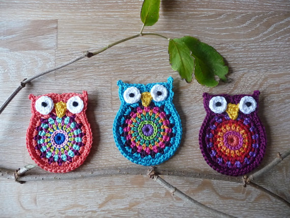 Free Crochet Pattern Small Owl : Crochet For Free: Owl Big Brother Crochet Pattern