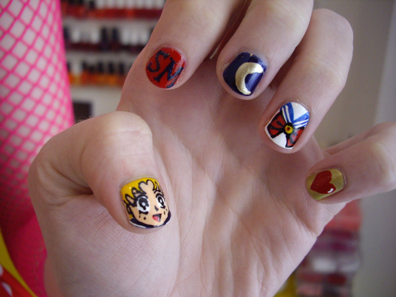 Nail Art Pictures: nail art salon games kids