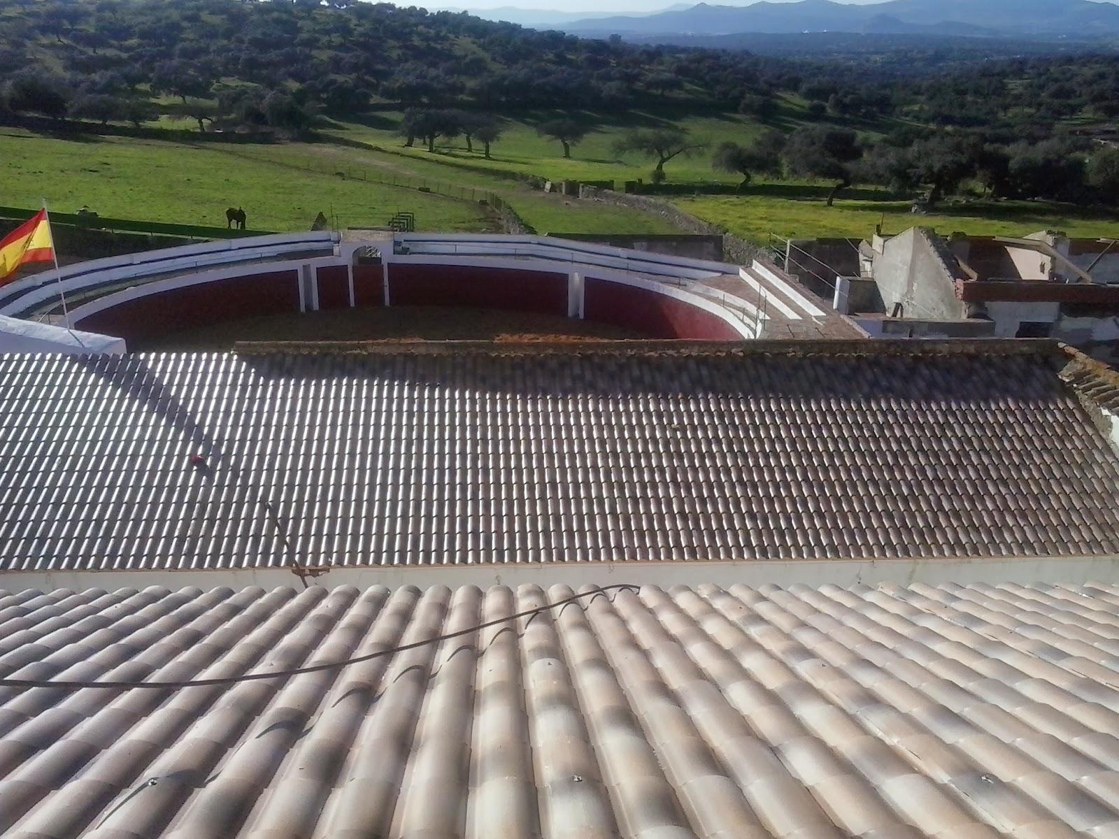 Arreglar tejado de chapa tejados de naves y locales en for Tejado de madera madrid