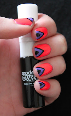 Models Own Ice Neons Nail Art
