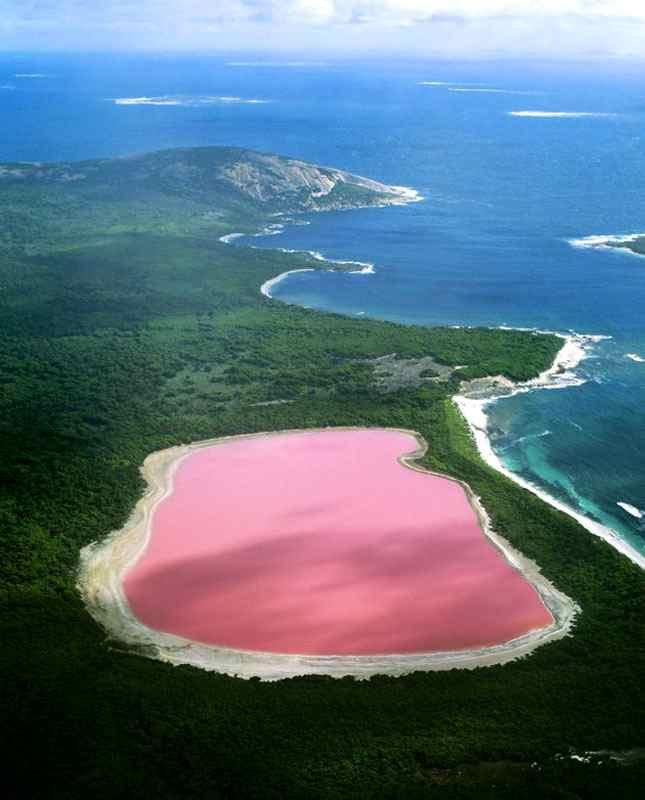 Danau Hillier, Australia