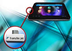 Toshiba Transfer Jet fastest data transfer technology 560Mbps usb tv computer laptop mobile tablet fast data transfer device | டிரான்ஸ்ஃபர் ஜெட் - சூப்பர் ஸ்பீட் Data Transfer டெக்னாலஜி | 560Mpbs speed data transfer technology by Toshiba Transfer Jet | fastest memory card data transfer