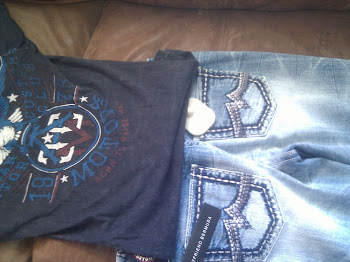 Affliction Shirt and MissMe