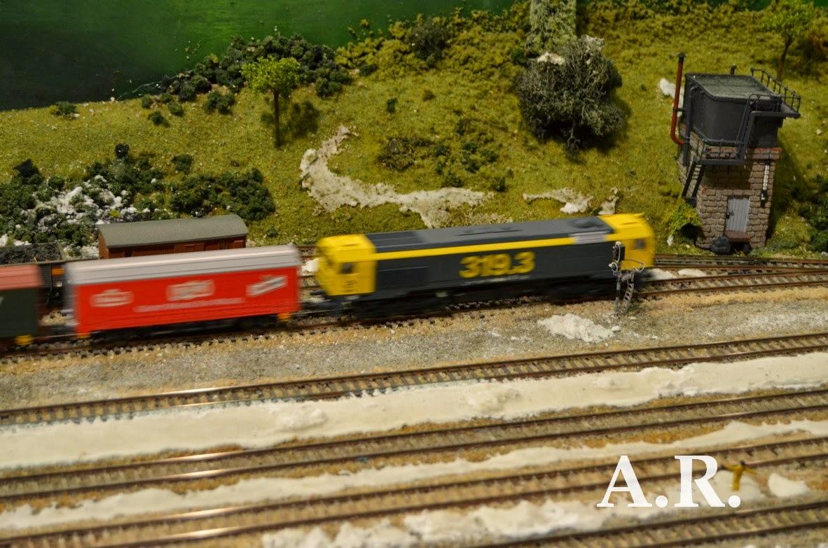 Ferrocarril Revolucion Industrial Maqueta
