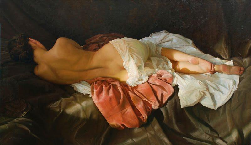 Belas pinturas realistas de Serge Marshennikov