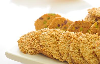 Sesame cookies barazek recipe arabic food recipes forumfinder Images