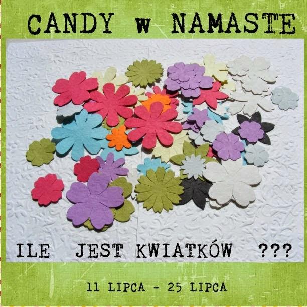 Candy kwiatowe Namaste
