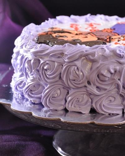 Dora Cake rosettes