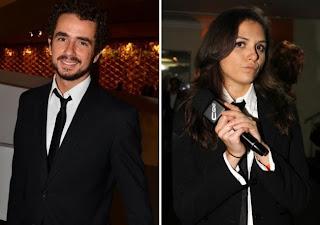 Felipe Andreoli e Monica Iozzi CQC
