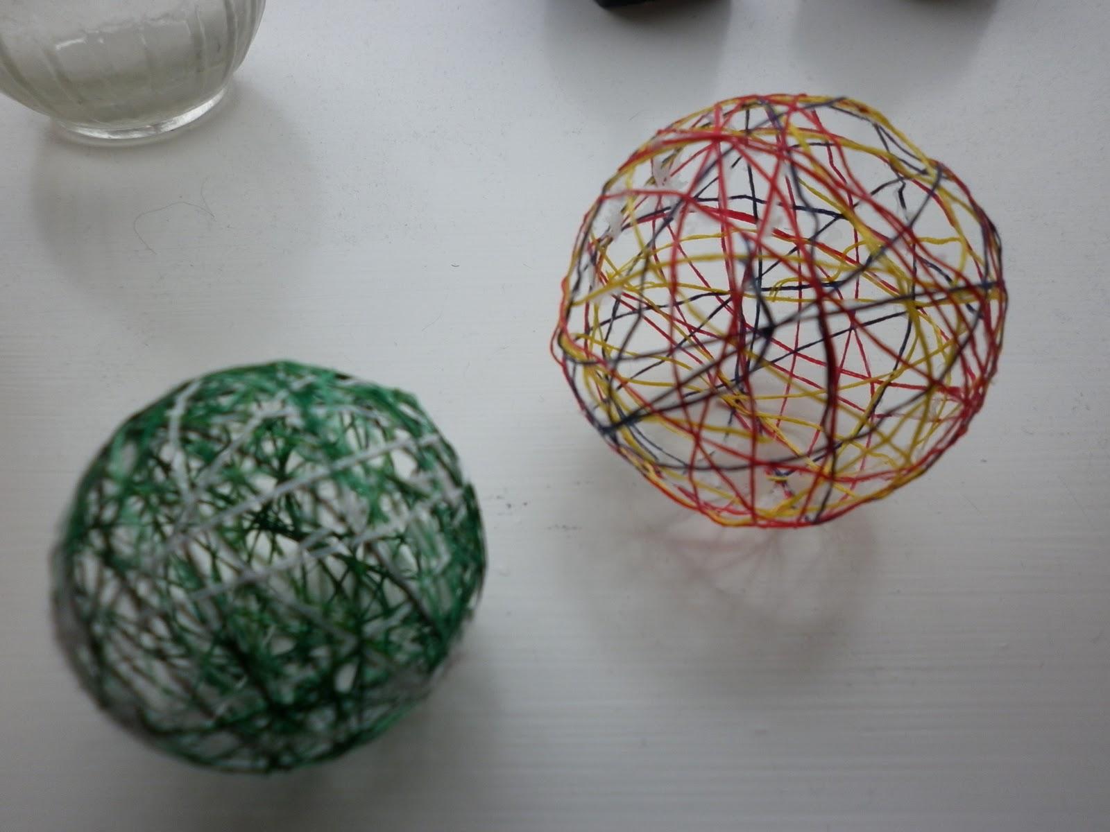String ball ornaments - String ornaments christmas ...