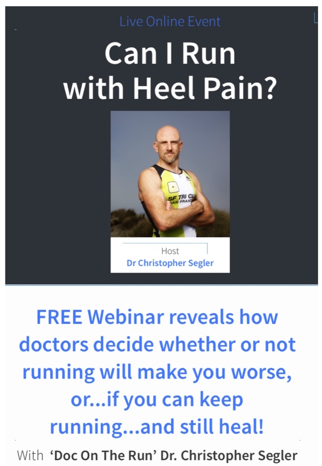 CAN I RUN WITH HEEL PAIN?