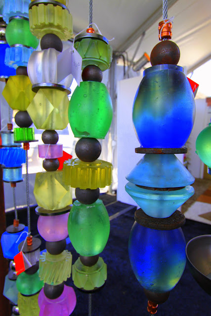 Margaret Joplin Glass Bead Creations #PSMW Palm Springs Modernism Week