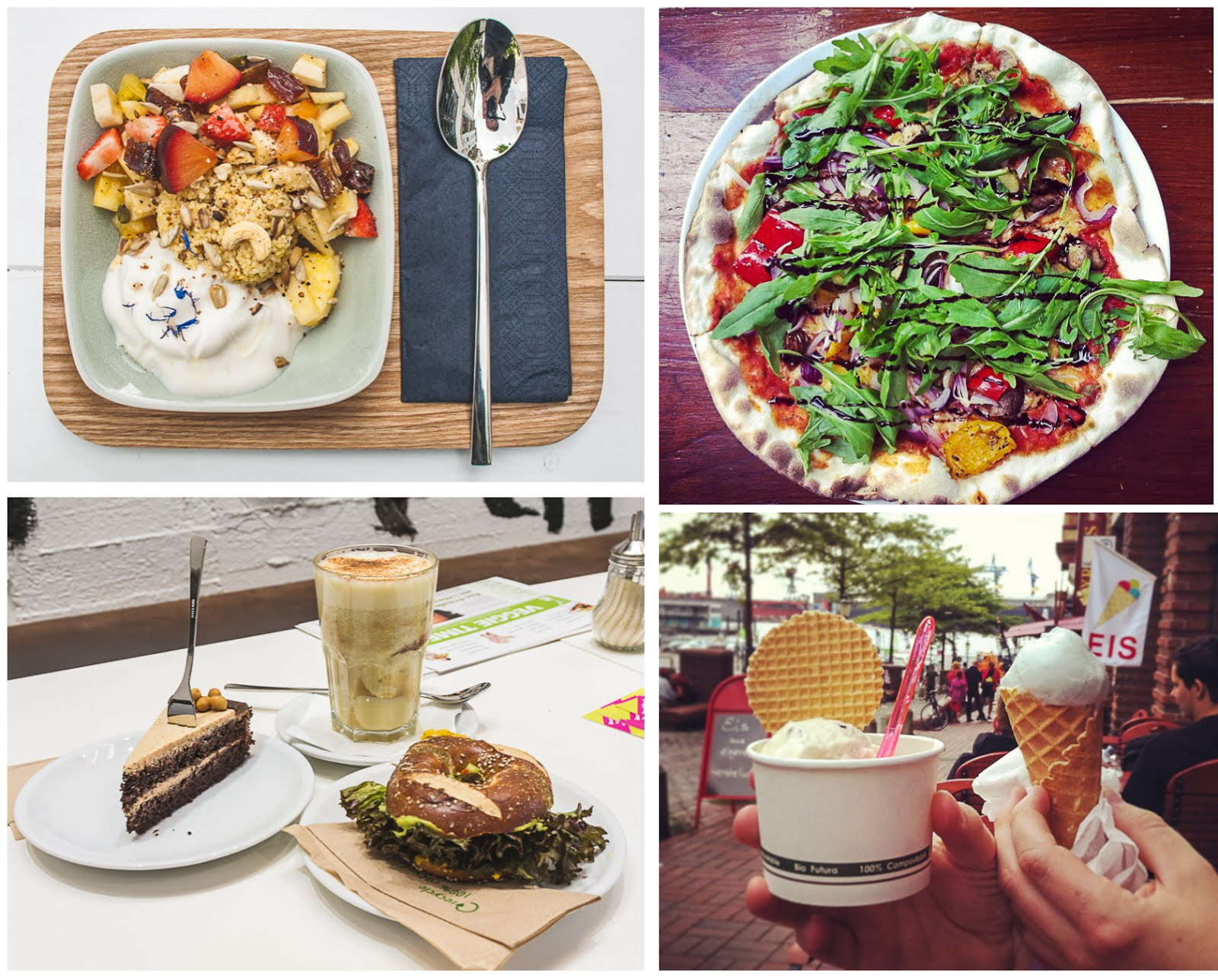 Die besten vegan / vegetarischen Restaurants und Cafés in Hamburg