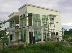 Philippines house and floor plans for designs of 2 storey apartment and Philippine modern bungalow two storey sample.