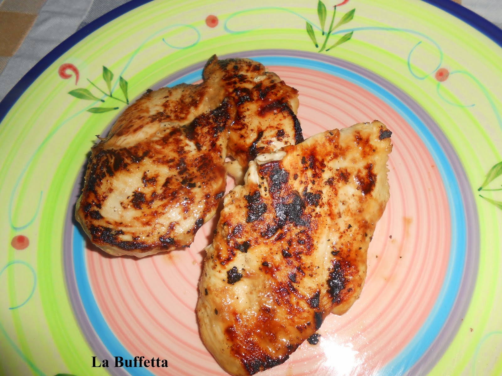 petti di pollo marinati alla senape