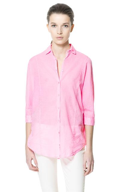 2013 Bayan Gömlek Modelleri : Zara