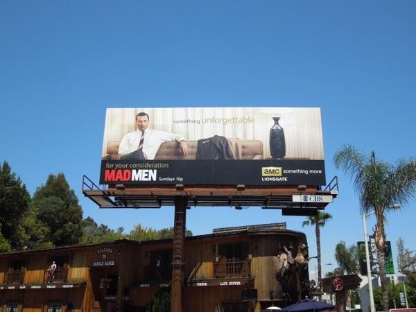 Mad Men 6 Emmy consideration billboard