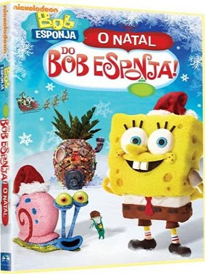 001 Download Bob Esponja : O Natal Do Bob Esponja  AVI Dublado