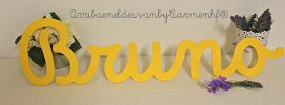 letras decorativas infantiles