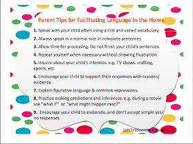 Let's Talk Speech & Language: 9 Parent Tips to Facilitate Middle Schoolers Language at Home