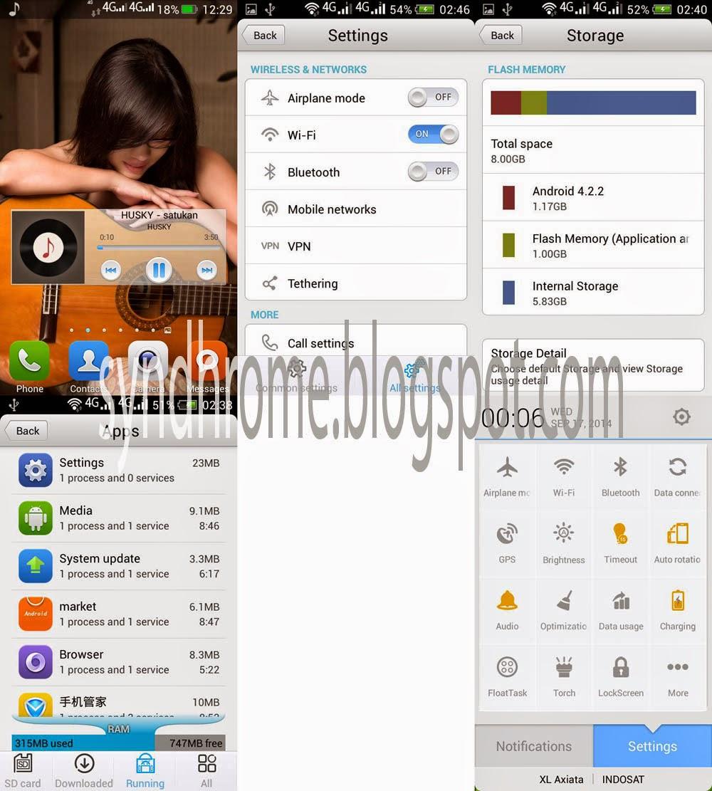 ROM Terbaru Lenovo A316, Duomi | Android yang Aneh?