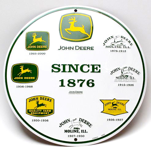 John Deere Logos Gallery