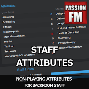 Football Manager Non-playing Staff Attributes