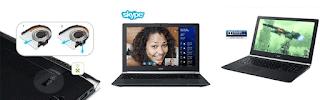 Fitur Laptop Gaming Acer bervariasi dari satu model ke model lain.