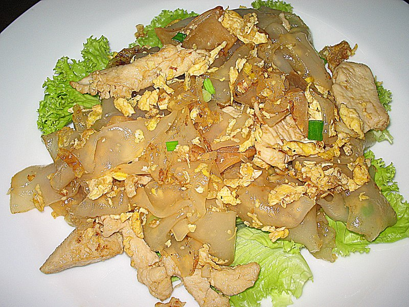 Tasty thai food recipes easy thai noodle recipe stir fried rice easy thai noodle recipe stir fried rice noodle with chicken and eggs forumfinder Image collections