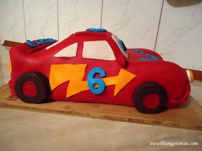 Tort Auto Zygzak McQueen
