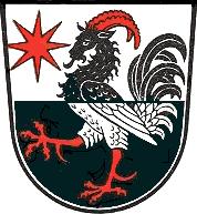 Sagesse du coq-bouc Wappen_Ziegenhain