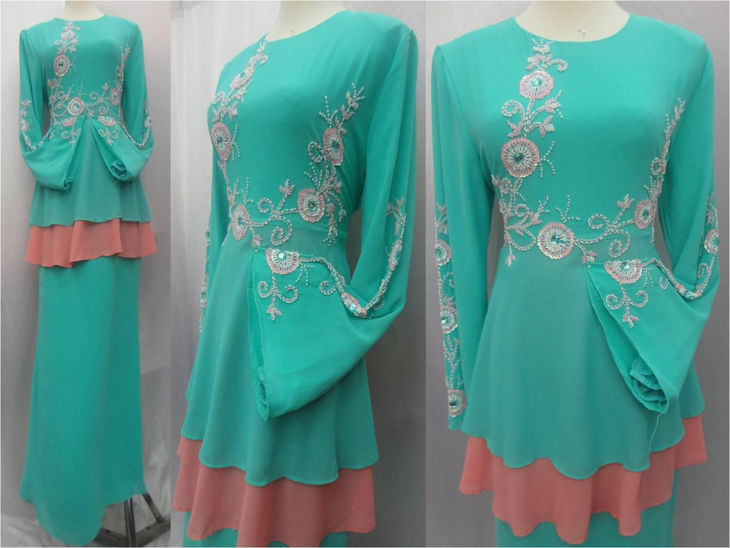 Fesyen Baju Jubah Dan Tudung Terbaru Raya Aidiladha 2013 2015