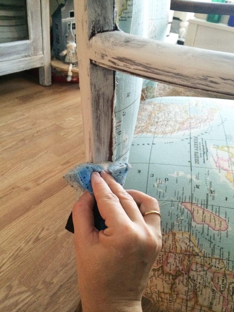 C mo tapizar una butaca t mismo s l o a n e s t r e e t - Esponja para tapizar ...