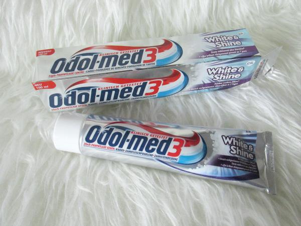 Odol-med3 White&Shine Zahncreme - 75ml - ca. 1.99€