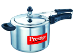 Pepperfry: Buy Prestige Nakshatra Aluminum Pressure Cooker 10 Ltr at Rs.1663