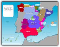 LA ORGANIZACIÓN DE ESPAÑA: LAS COMUNIDADES AUTÓNOMAS