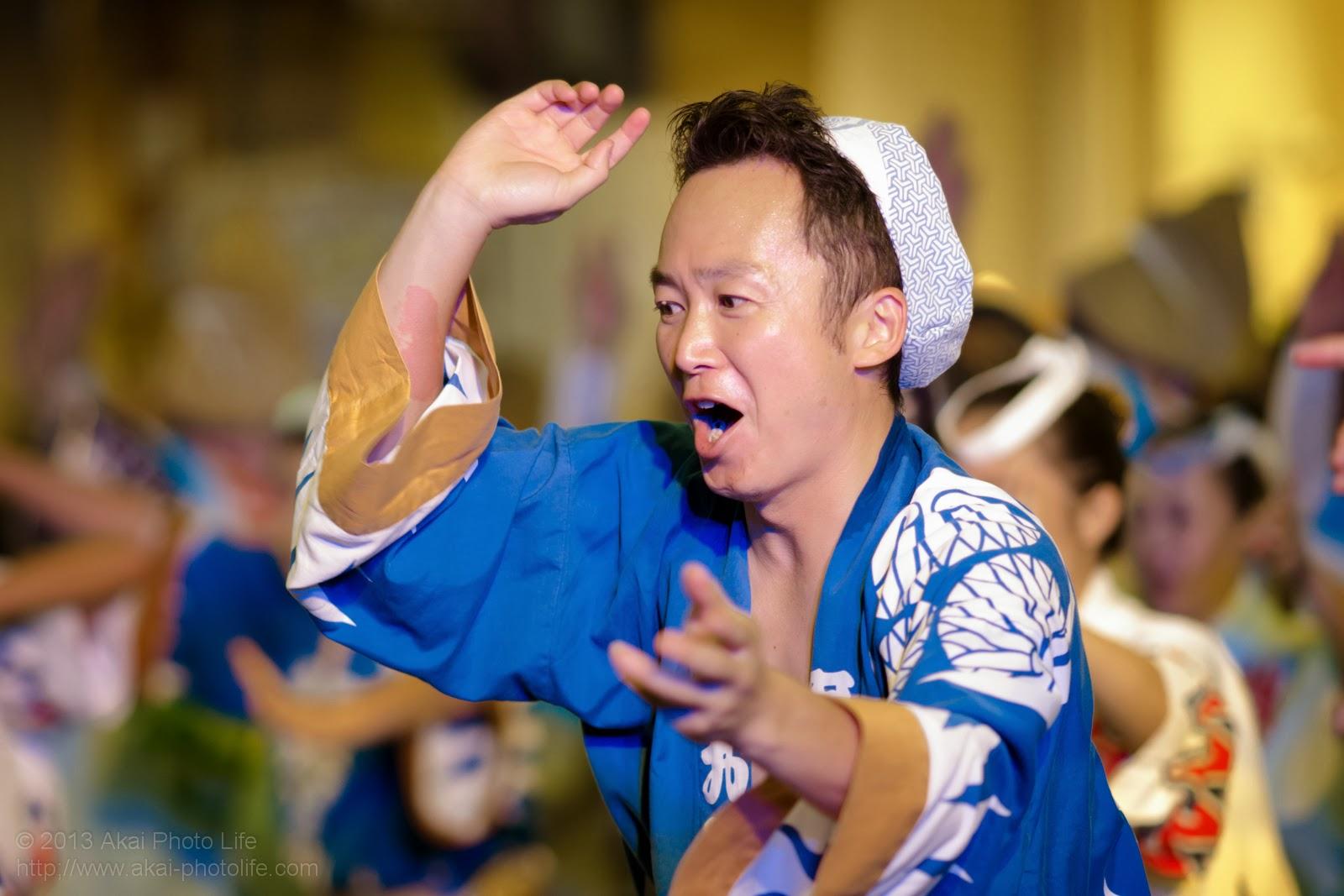 かわさき阿波おどり、埼玉葵連、男踊り