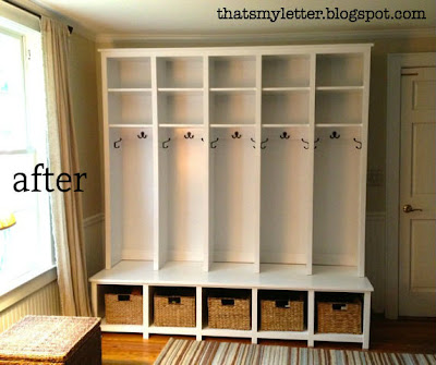 built in mudroom bench plans