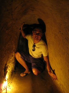 Draide in Cu Chi Tunnel