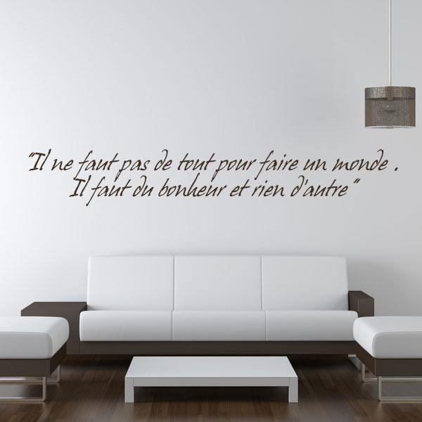 blog stickers citations une d co intelligente. Black Bedroom Furniture Sets. Home Design Ideas