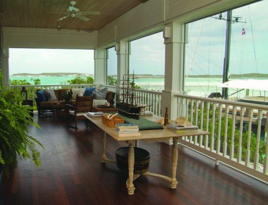 manor house on private island property in exuma chain of bahamas islands