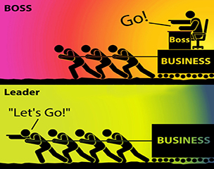 the differences between a boss and a leader Often times, modern society mistakes the definition of a boss and a leader we've somehow conflated the concepts when in fact the two prove to be entirely separate entities.