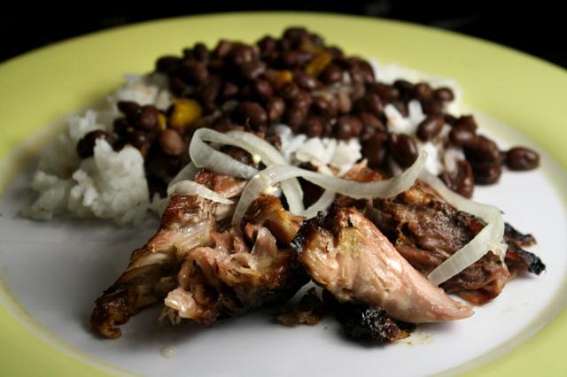 The 99 Cent Chef: Roast Pork - Cuban Style