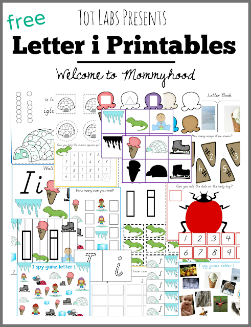 Tot Labs presents hands on letter i activities for toddlers and preschoolers by Welcome to Mommyhood, #preschoolactivities, #montessoriactivities, #montessori, #handsonlearning, #letteroftheweek, #lotw, #freeprintables