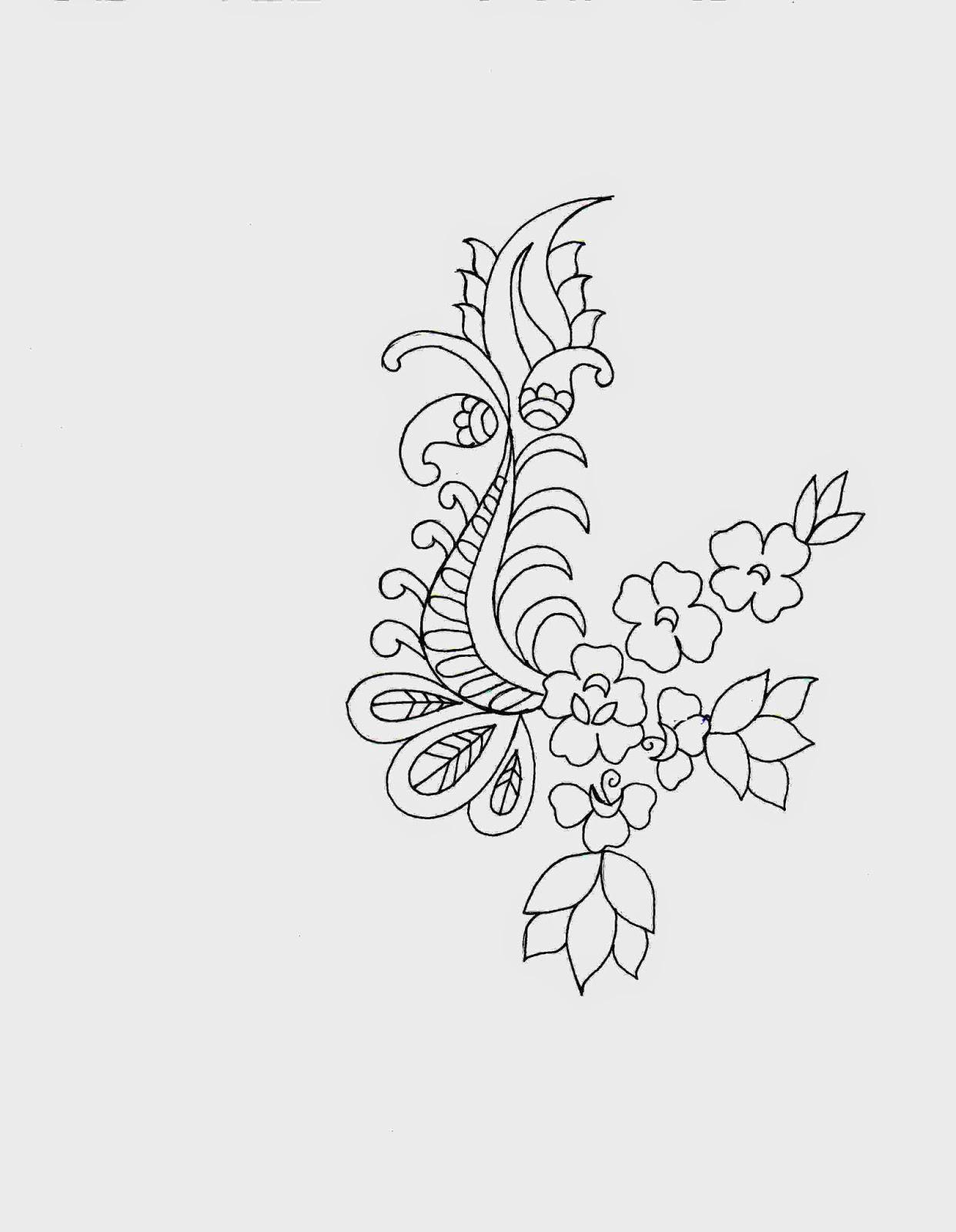 kleurvolle Applique Skets ontwerp