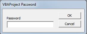 Password Aplikasi Persedian Excel