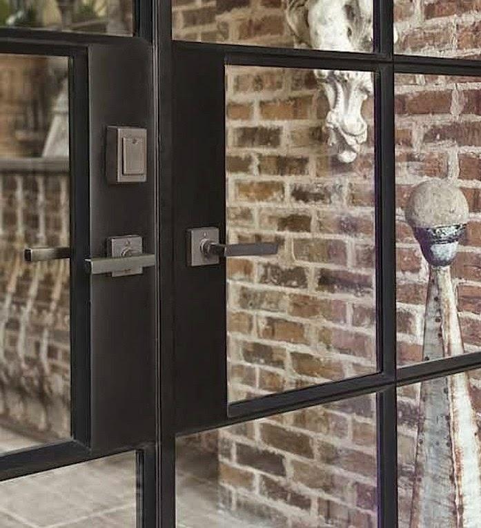 Steel Door Details : Let s stay industrial steel framed french doors metal