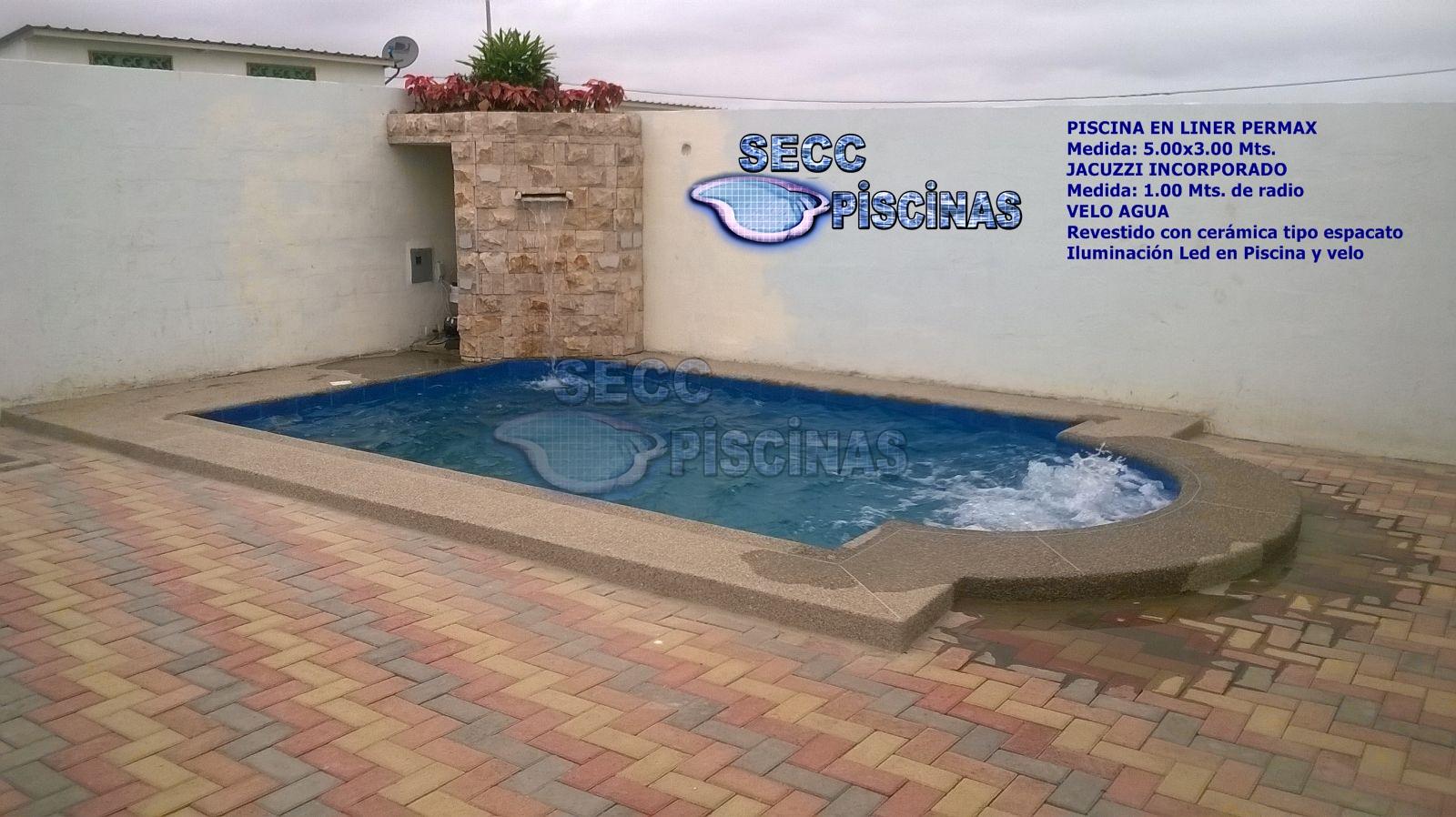 Secc piscinas piscinas con jacuzzi incorporado for Piscina 5 metros diametro