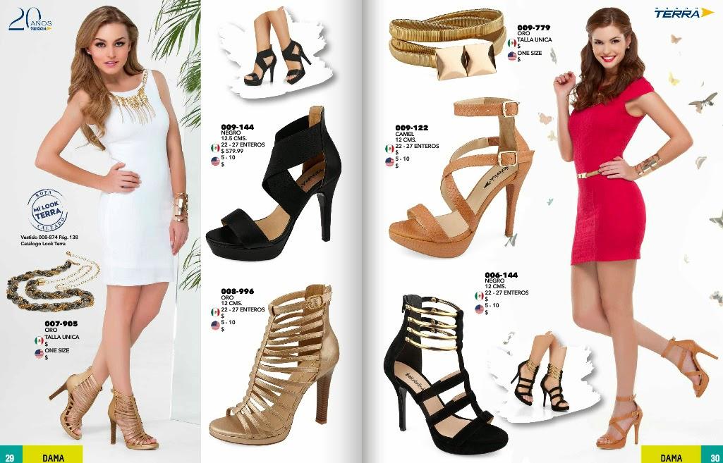 Catalogo de zapatos terra : primavera verano 2015