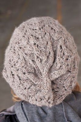 Cascade Yarns Blog: Fishtail Lace Slouch Hat in Eco Highland Duo